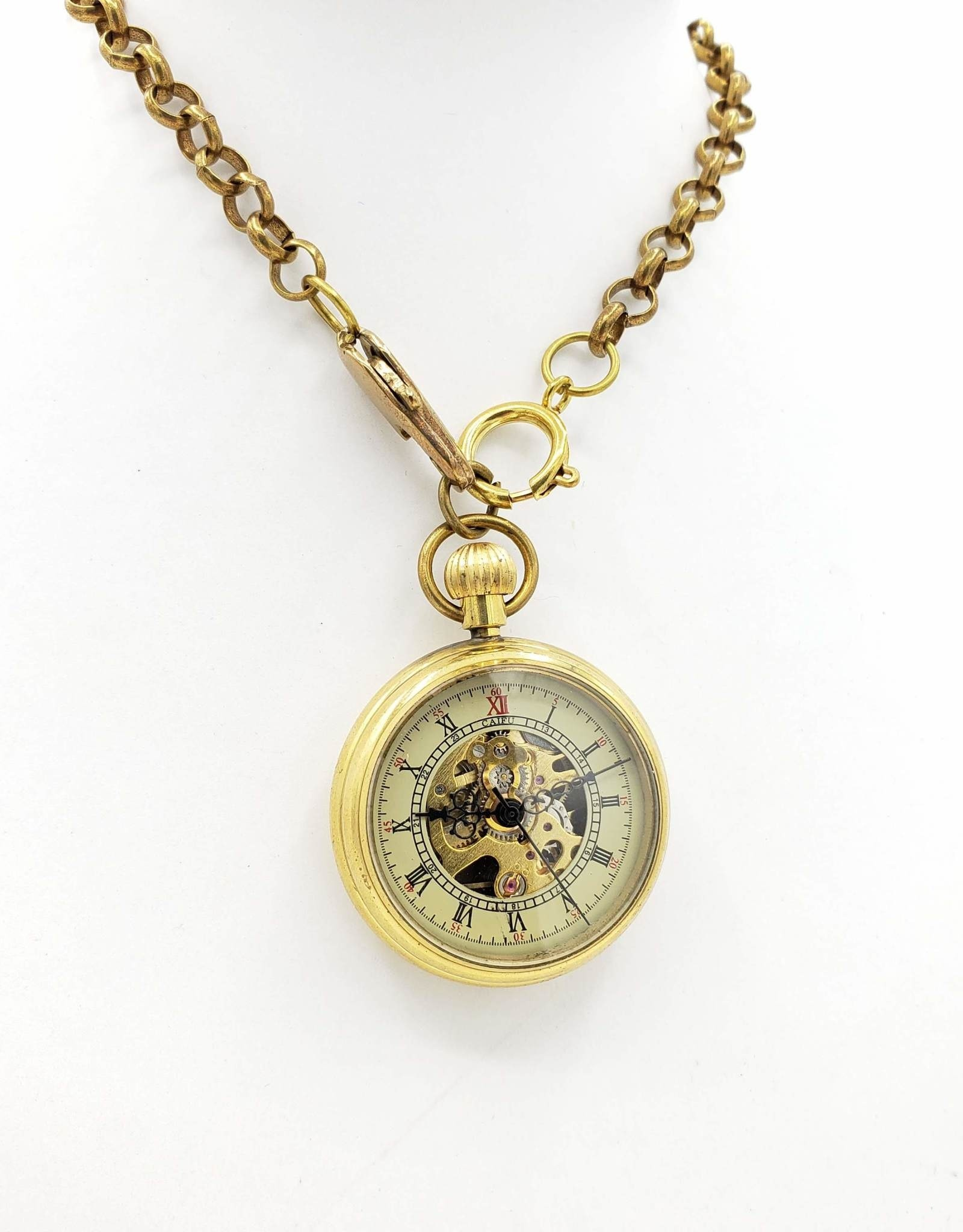 IGNY Soho Old Fashioned Mechanical Pocket Watch