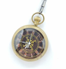 IGNY Large Paris Antique Mechanical Pocket Watch