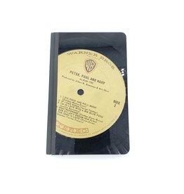 Peter, Paul & Mary Vintage Vinyl Journal, Small - by Vinylux
