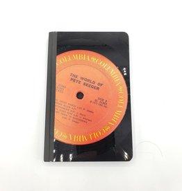 Pete Seeger Vintage Vinyl Journal, Small - by Vinylux