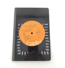 The Beach Boys Vintage Vinyl Journal, Large - Vinylux