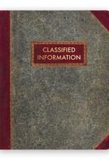 "Mincing Mockingbird ""Classified Information"" Large Journal by Mincing Mockingbird"