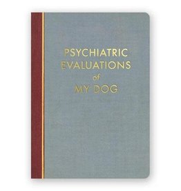 "Mincing Mockingbird ""Psychiatric Evaluations of My Dog"" Journal by Mincing Mockingbird"