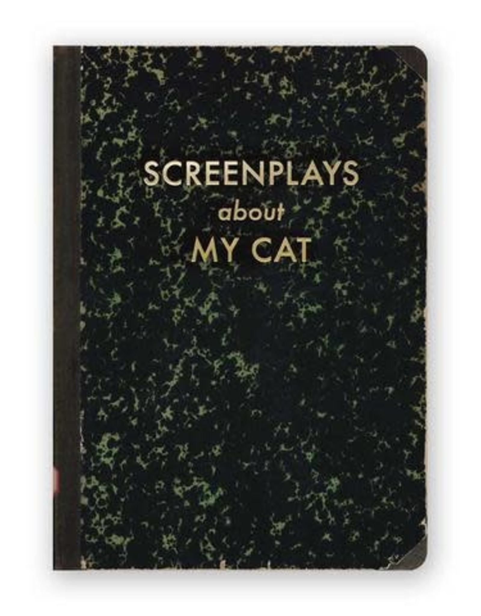 "Mincing Mockingbird ""Screenplays About my Cat"" Journal by Mincing Mockingbird"