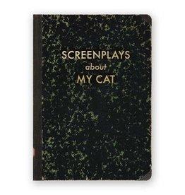 "Mincing Mockingbird ""Screenplays About my Cat"" Journal by Mincing Mockingbird"