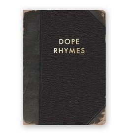 "Mincing Mockingbird ""Dope Rhymes"" Journal by Mincing Mockingbird"
