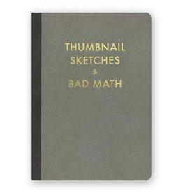 "Mincing Mockingbird ""Thumbnail Sketches & Bad Math"" Journal by Mincing Mockingbird"