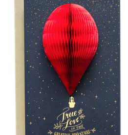 Greeting Card 3-D True Love Balloon - Ladyfingers