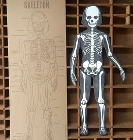 Letterpress Moveable Skeleton - Large Articulating Paper Figure
