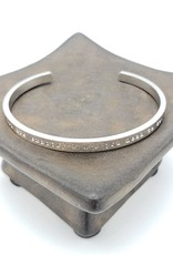 """Oh, Hello Friend """"You are Exactly Where You Need to Be"""" Cuff Bracelet, Silver Plated"""