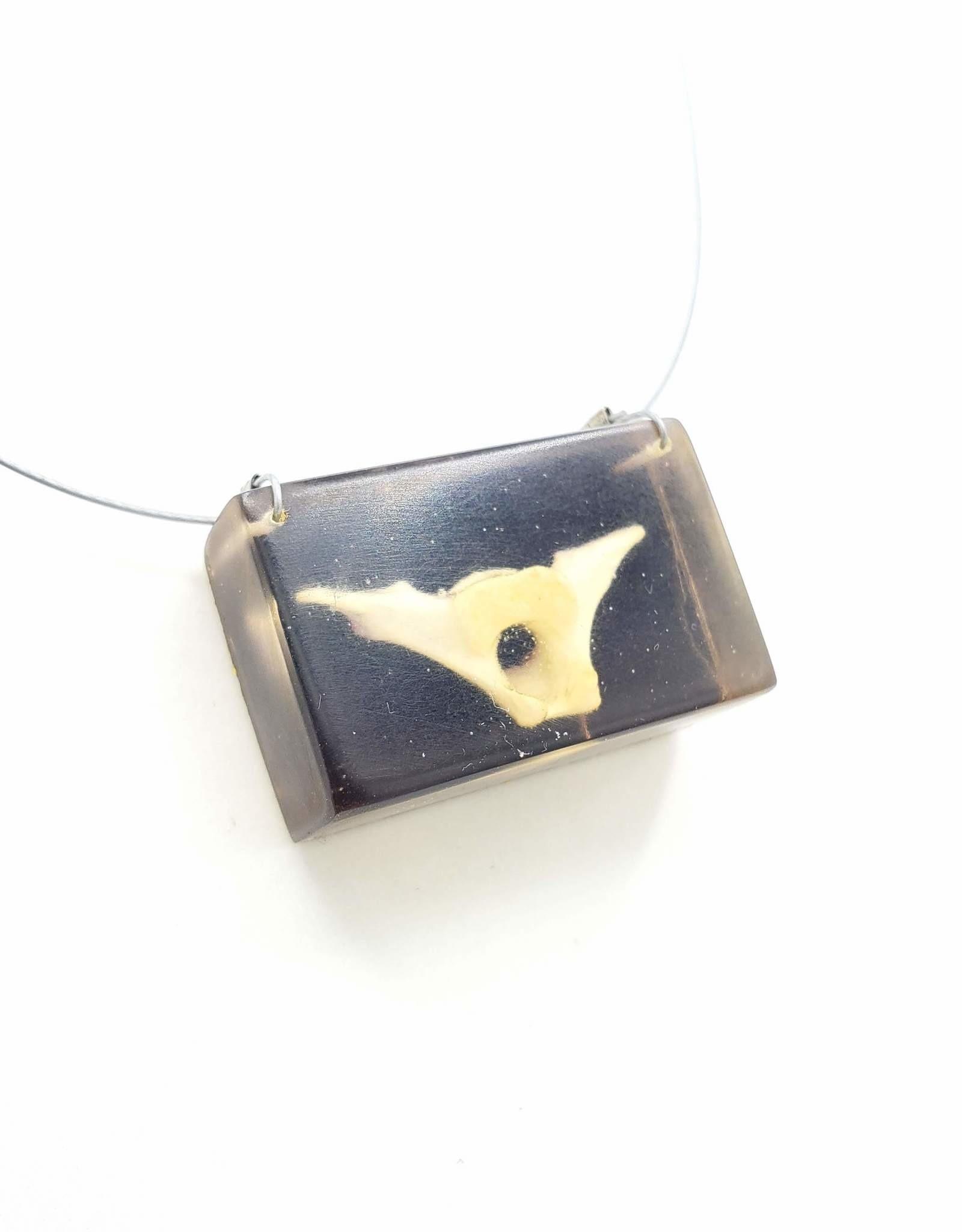 Fernworks Vertebrae in Resin Necklace by Fernworks