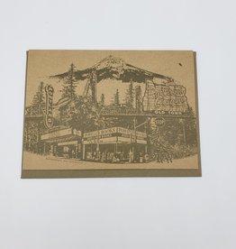 """Beth Kirschen """"Portlandmark"""" Greeting Card - Beth Kirschen"""