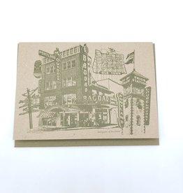 """Beth Kirschen """"Marquees of Portland"""" Greeting Card - Beth Kirschen"""