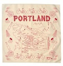 Maptote Portland Bandana in White by Maptote