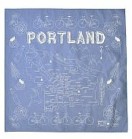 Maptote Portland Bandana in Chambray by Maptote