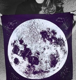 Moon Bandana Purple by Little Lark