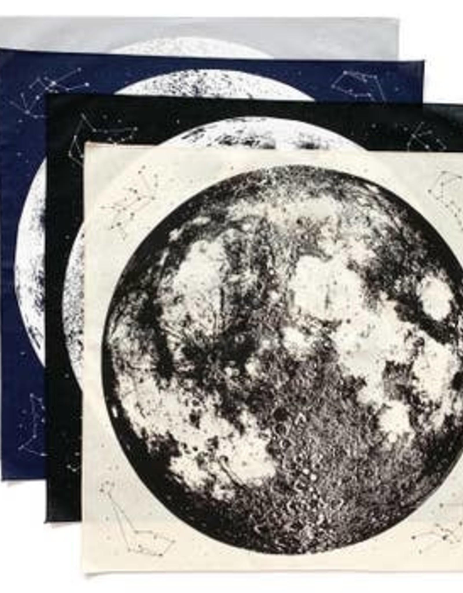 Moon Bandana Black by Little Lark