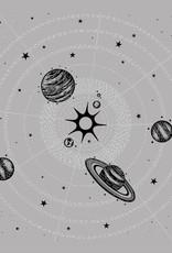 Solar System Bandana in Grey by Little Lark