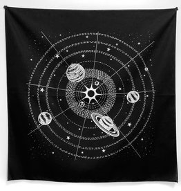 Solar System Bandana in Black by Little Lark