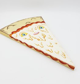 """Happy Pizza Painting - Blue Eyes 6"""" X 10"""" by Tripper Dungan"""