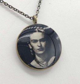 Frida Kahlo - Patroness Saint Pendant