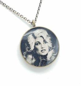 Dolly Parton - Patroness Saint Pendant