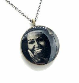 Michelle Obama - Patroness Saint Pendant