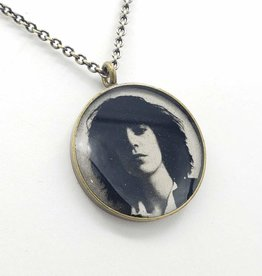 Patti Smith - Patroness Saint Pendant