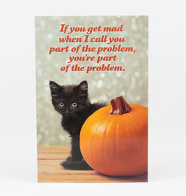 "Sean Tejaratchi ""If You Get Mad"" Postcard - Social Justice Kittens & Puppies, by Sean Tejaratchi"