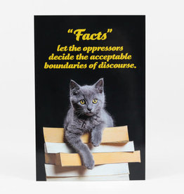 "Sean Tejaratchi ""Facts"" Postcard - Social Justice Kittens & Puppies, by Sean Tejaratchi"