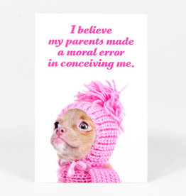 "Sean Tejaratchi ""I Believe"" Postcard - Social Justice Kittens & Puppies, by Sean Tejaratchi"