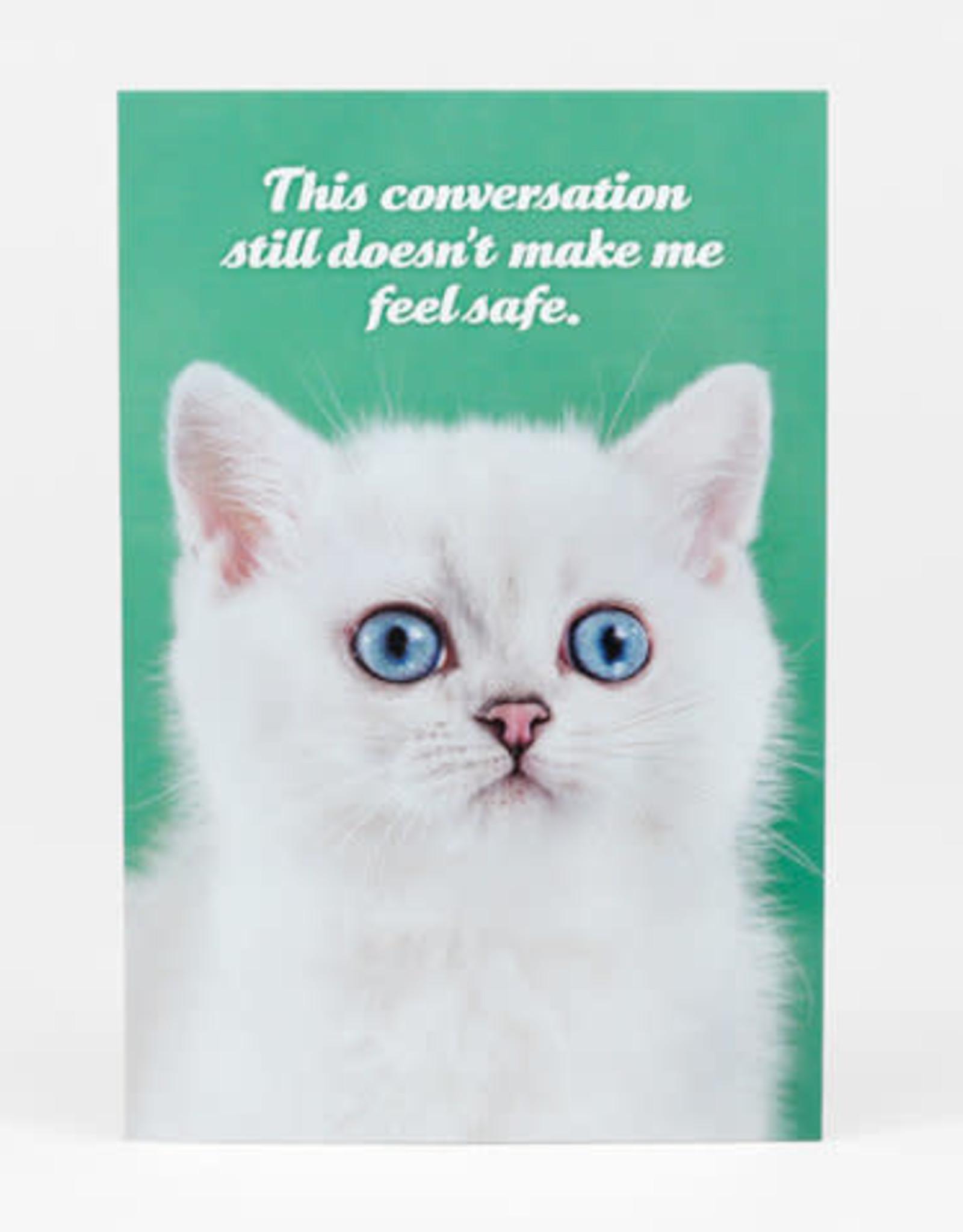 "Sean Tejaratchi ""This Conversation"" Postcard - Social Justice Kittens & Puppies, by Sean Tejaratchi"