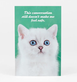 "Sean Tejaratchi ""This Conversation"" Postcard - Social Justice Kittens & Puppies, by Sean Tejaratchi"