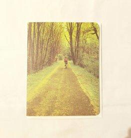 Bike Path Greeting Card - Stumptown Printers