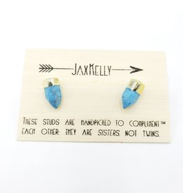 Jax Kelly Turquoise Point Post Earring