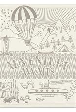 """Adventure Awaits"" Greeting Card - Hello Lucky"