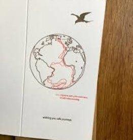 """Wishing You Safe Journeys"" Greeting Card - Lark Press"