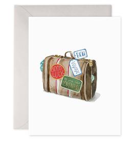 """Bon Voyage"" Adventure Greeting Card - E. Frances Paper"
