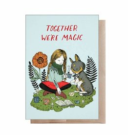 "Marika Paz ""Together We're Magic"" Greeting Card - Marika Paz"