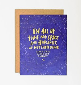 "Emily McDowell ""All of Time and Space"""" Love Greeting Card - Emily McDowell"