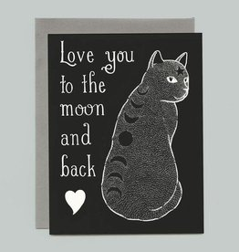 "Bee's Knees Industries ""Love You To the Moon and Back"" Greeting Card - Bee's Knees"