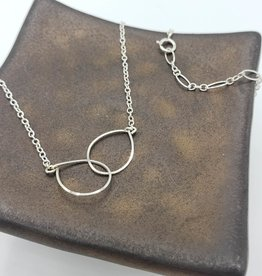 Redux Double Link Necklace - Sterling Silver