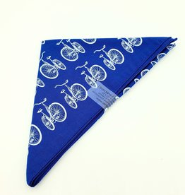Bicycle Bandana in Blue by Little Lark