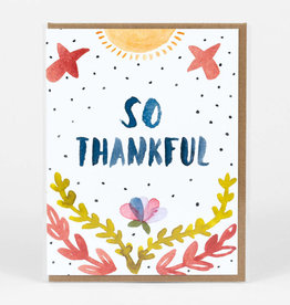 """So Thankful"" Greeting Card - Little Truths"
