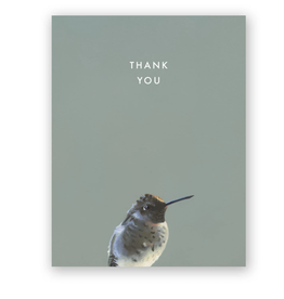 "Mincing Mockingbird ""Hummingbird"" Thank You Greeting Card - The Mincing Mockingbird"