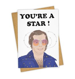 """You're A Star!"" Greeting Card - Tay Ham"