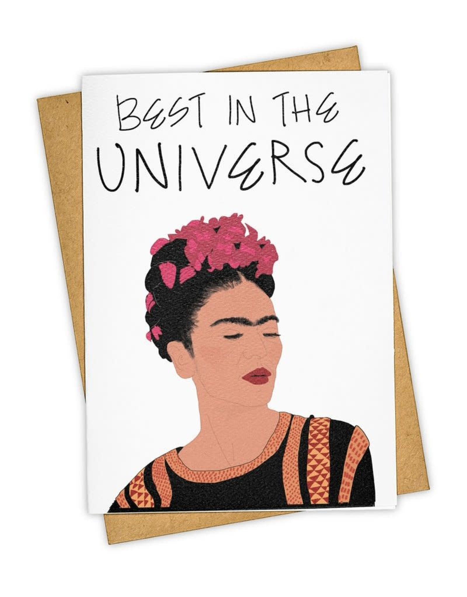 """""""Best In the Universe"""" Greeting Card - Tay Ham"""