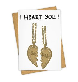 """I Heart You"" Greeting Card - Tay Ham"