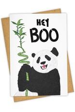 """Hey Boo"" Greeting Card - Tay Ham"