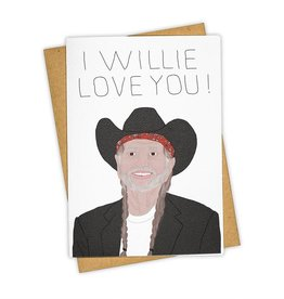 """I Willie Love You"" Greeting Card - Tay Ham"